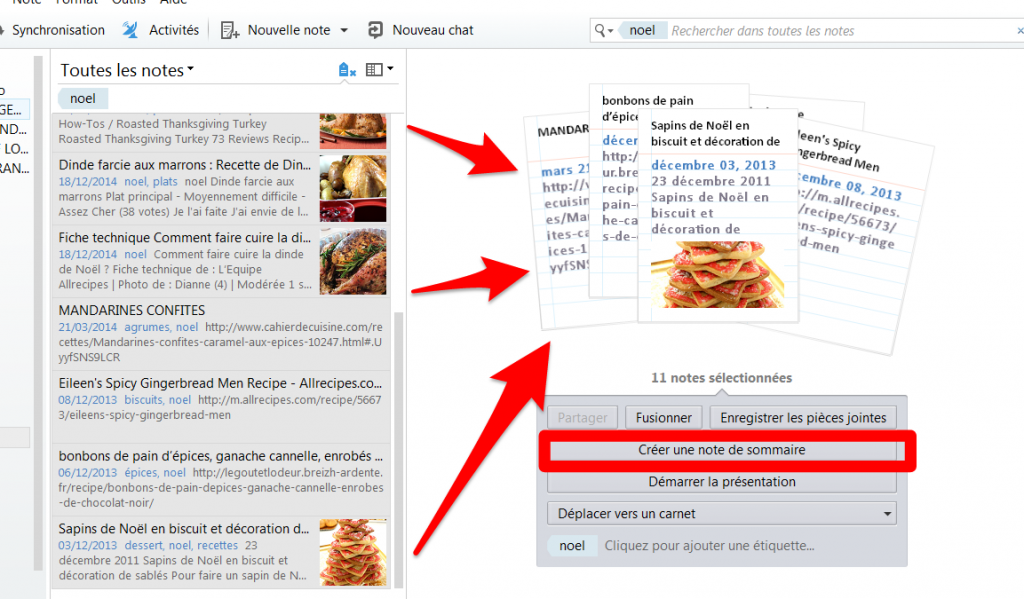 recette evernote 3