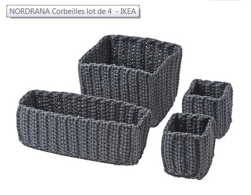 paniers NORDRANA IKEA
